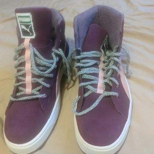 Puma Fancy Sneakers Purple 10